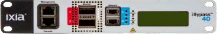 I2BP-40G-SR-50-QSFP  40G/10G iバイパススイッチ  Ixia | A Keysight Business