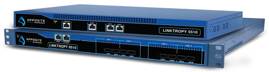 Linktropy 5510/Linktropy 8510 WANエミュレータ|Apposite Technology